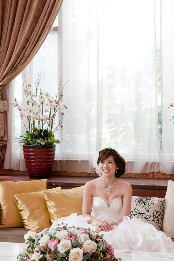 婚紗照(3)-新娘半身