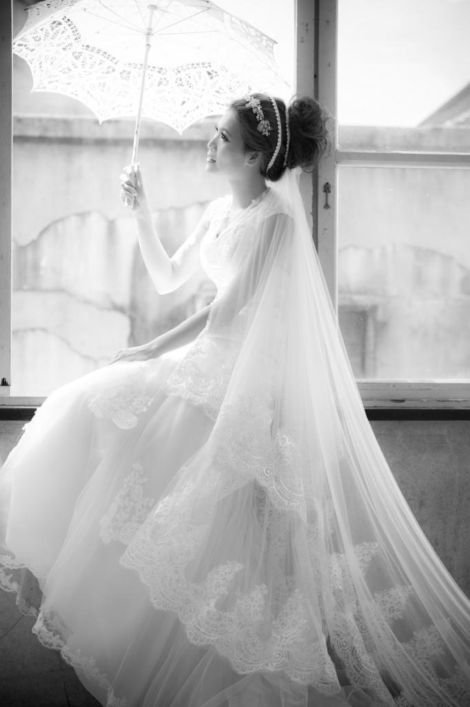 白紗推薦-復古蕾絲