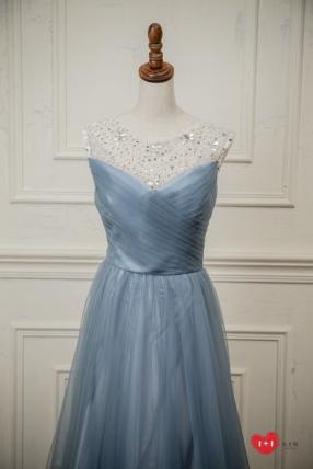 手工婚紗推薦:繁花的美麗晚禮服