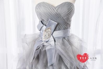 手工婚紗:童話蝶飄晚禮服
