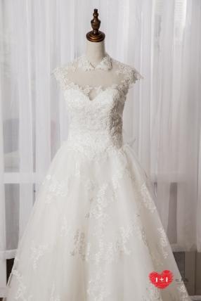 手工婚紗推薦:蜜約特色白紗