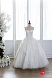 手工婚紗:古典玫瑰花園白紗